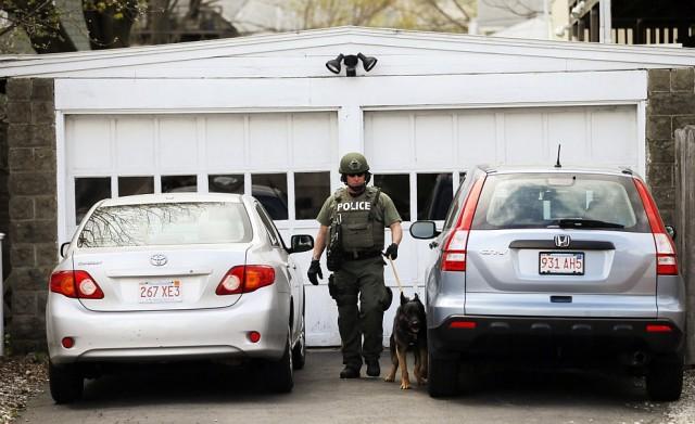Как задерживали Бостонских террористов
