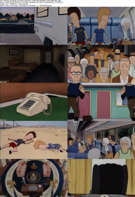 Beavis and Butt-Head Do America (1996) WS DVDRip x264-REKoDE