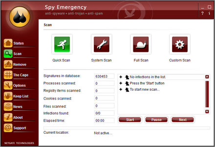 NETGATE Spy Emergency 13