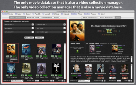 Coollector Movie Database v4.0.8 Retail MacOSX