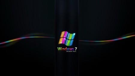Подборка красивых фонов с эмблемами операционных систем 13