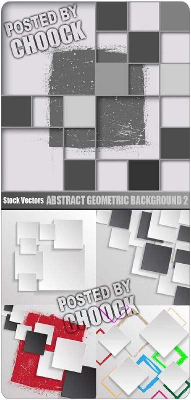 Абстрактный геометрический фон 2 - векторный клипарт