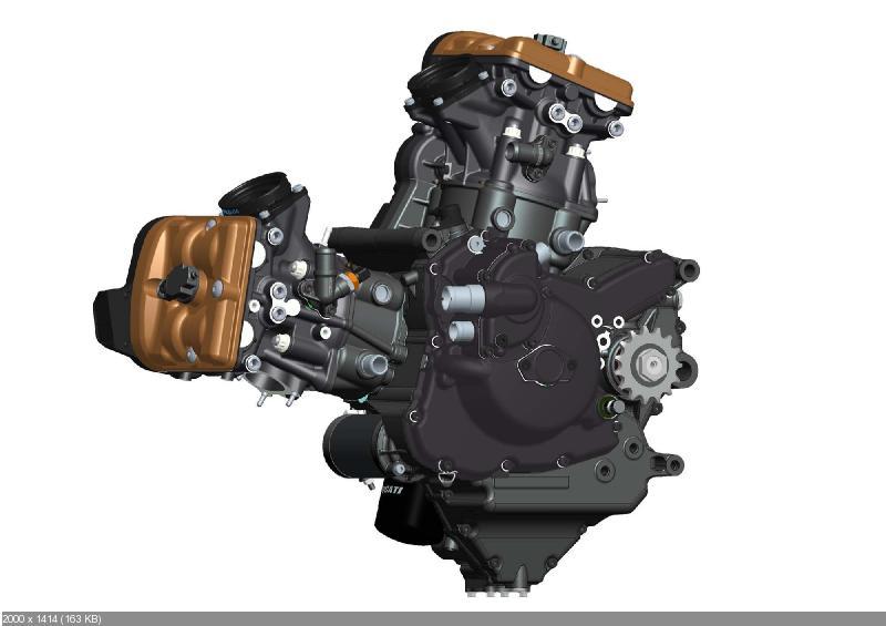 CAD-рисунки мотоцикла Ducati Streetfighter 848 (2012)