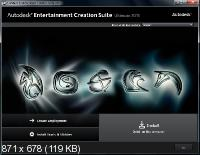 Autodesk Entertainment Creation Suite Ultimate 2013 (2012/x86/x64/ENG)