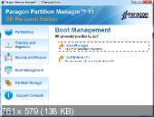 Paragon Partition Manager 11 SE Personal build 9887 (2010) Английский