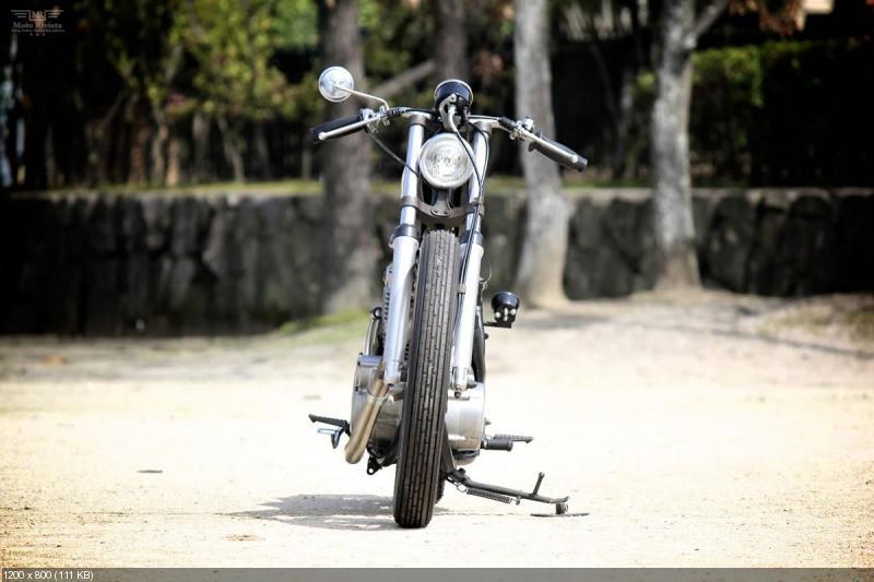 Мотоцикл Yamaha SR400 Vintage Racer