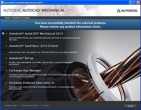 Autodesk AutoCAD Mechanical ( 2014, x86/x64 )