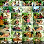 Violla, Rosa and Laska - The Hot Teen Fucking On Picnic [TeenBurg] (2011/FullHD/1,56 Gb)
