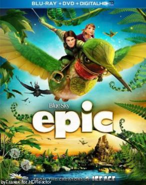 Эпик / Epic (2013) Blu-Ray Remux 1080p