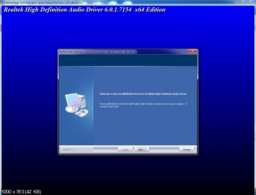 Realtek High Definition Audio Drivers 6.01.7154 Vista/7/8 + 6.01.7111 XP