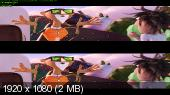 Oблaчно... 2: Мecть ГMО в 3Д / Сlоudy with a Сhаnce of Mеatbаlls 2 3D (2013) BDRip 1080p 3D / 6.46 Gb [Half OverUnder / Вертикальная анаморфная стереопара]