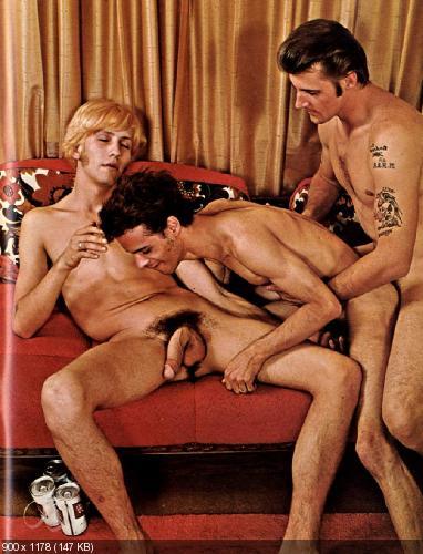 ретро гей порно фото