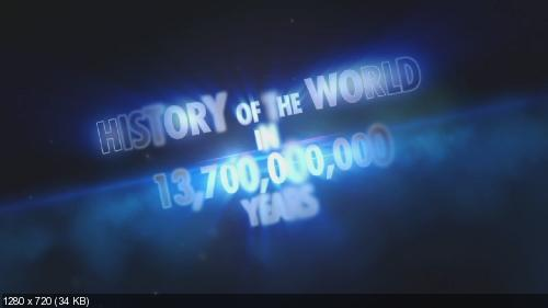 История мира за 2 часа / History Of The World In Two Hours (2011) 720p BDRip