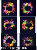 Красочные неоновые рамки / Colorful Neon Frames