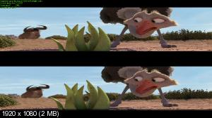 ������ ������ / ����� / Khumba (2013) BDRip 1080p | DUB | 3D-Video | ��������