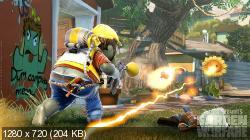 Plants vs Zombies: Garden Warfare (2014/ENG/RF/XBOX360)
