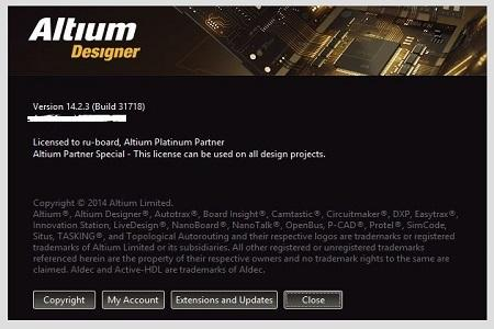 Altium Designer v.14.2.3 31718 (Cracked)
