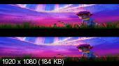 Спасти Землю 3Д / Echo Planet 3D  Вертикальная анаморфная