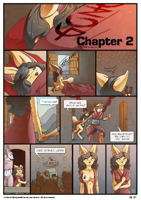 A Tale of Tails: Chapter 2 comic