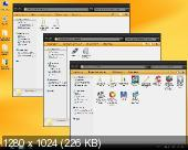 Windows 7 SP1 Home Premium OrBlack IE11 Qmax