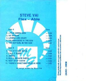 Steve Vai - Flex-Able (1991, recorded 1983)