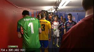 Футбол. Лига Европы 2013-14. 1/4 финала. Первый матч. Лион (Франция) — Ювентус (Италия) (2014) HDTVRip