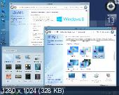 Windows 8.1 Professional VL with Update x86/x64 by OVGorskiy 04.2014 2DVD (RUS/2014)