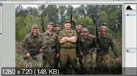 Обработка фотографии в стиле военной тематики (2017). Скриншот №2