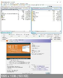 Multi Commander 7.1 Build 2347 - файловый менеджер